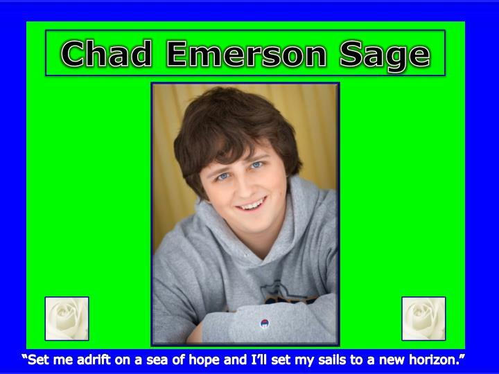 Chad Emerson Sage