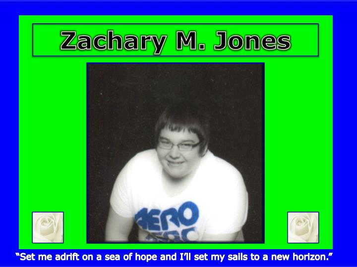 Zachary M. Jones