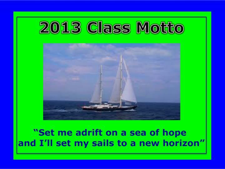 2013 Class