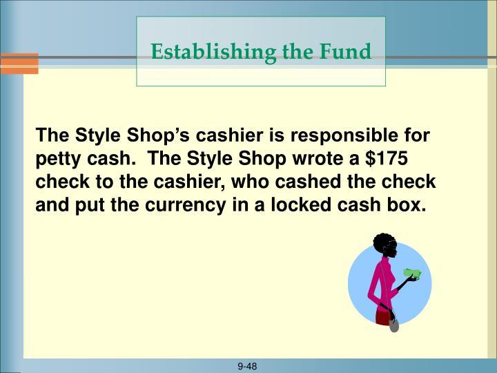 Establishing the Fund