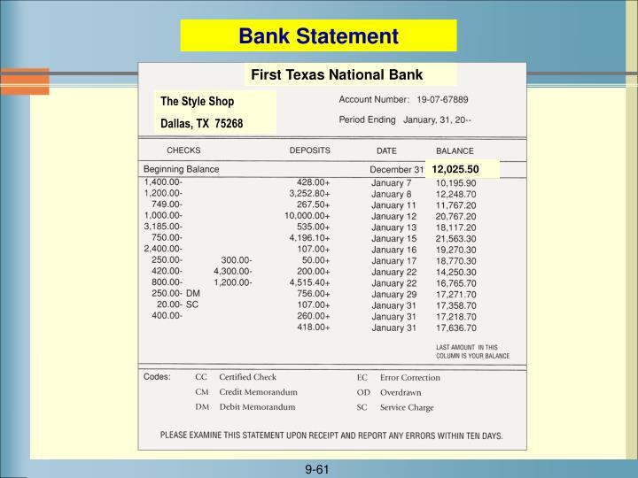 First Texas National Bank