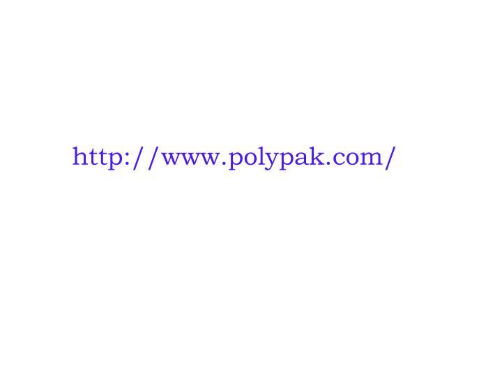 http://www.polypak.com/