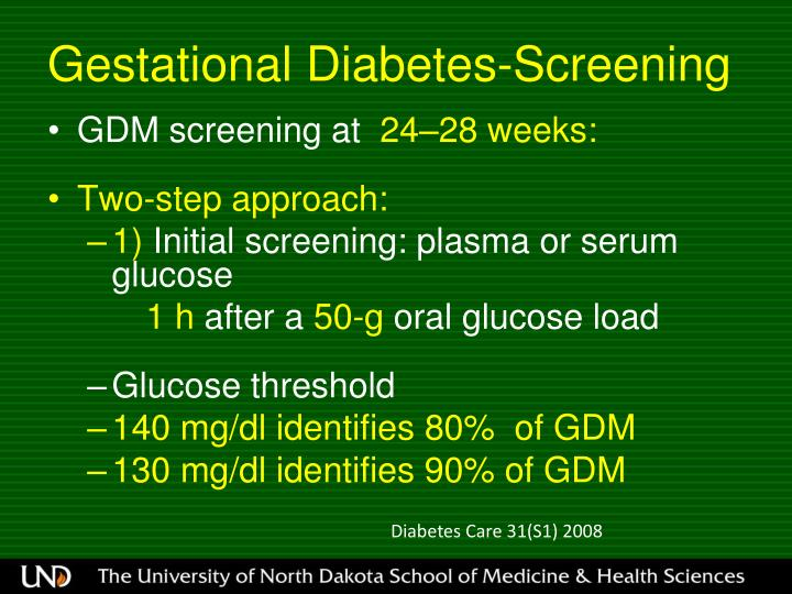 Gestational Diabetes-Screening