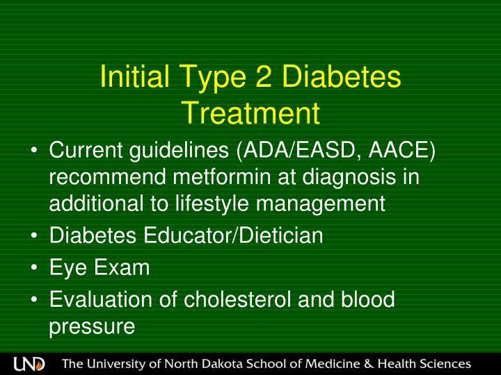 Initial Type 2 Diabetes Treatment