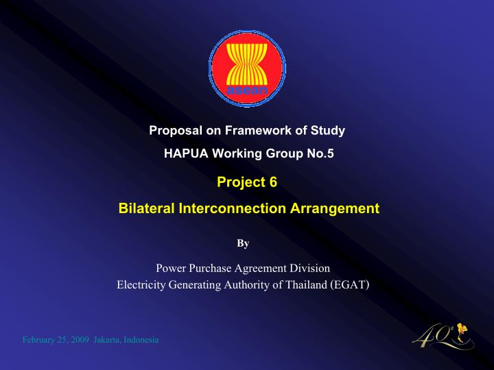 By power purchase agreement division electricity generating authority of thailand egat