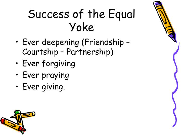 Success of the Equal Yoke