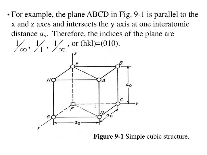 For example, the plane ABCD in Fig. 9-1 is parallel to the