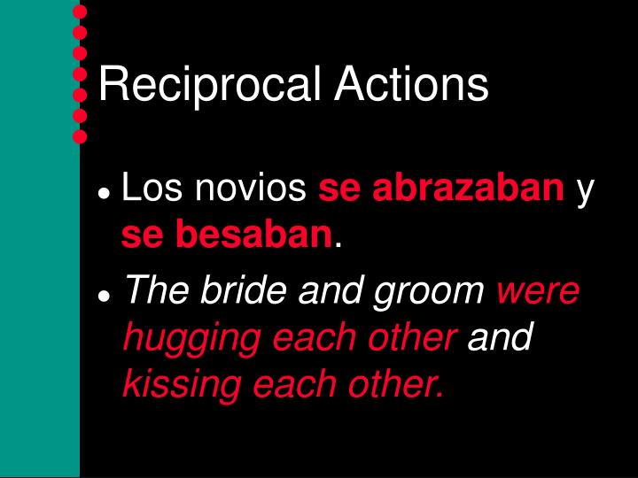 Reciprocal actions2