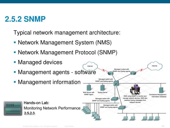 2.5.2 SNMP