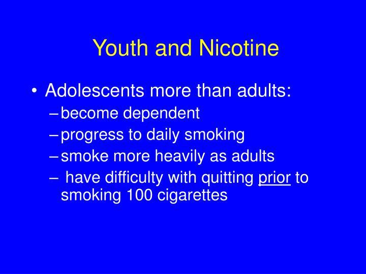 Youth and Nicotine