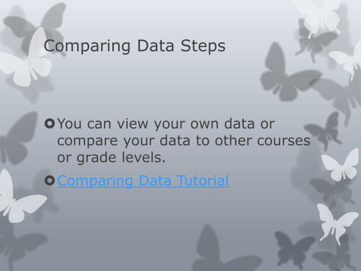 Comparing Data Steps