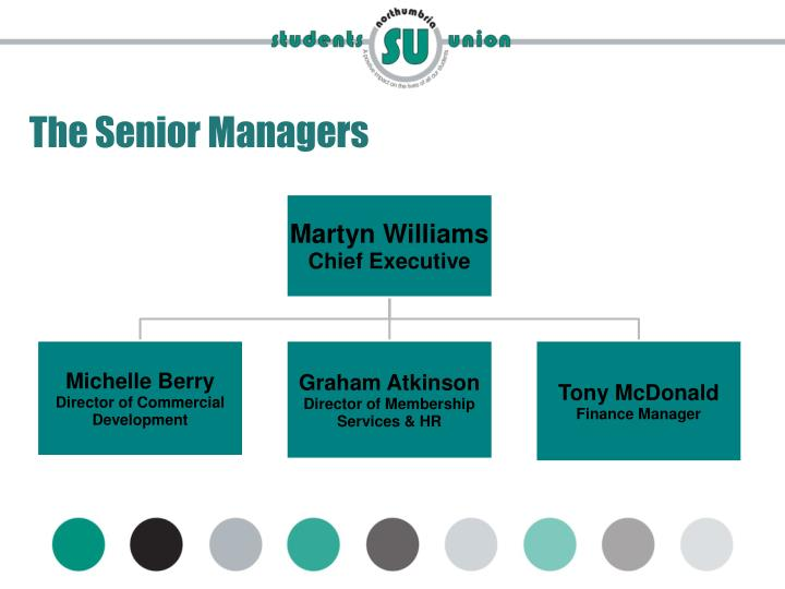 The Senior Managers