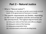 part 2 natural justice