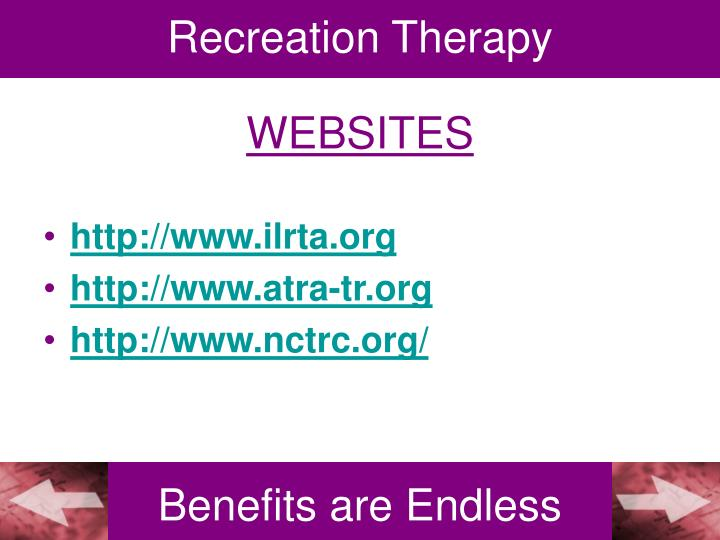 Recreation Therapy