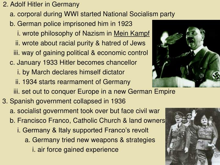2. Adolf Hitler in Germany