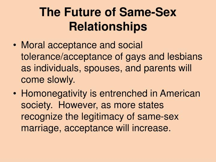 The Future of Same-Sex Relationships