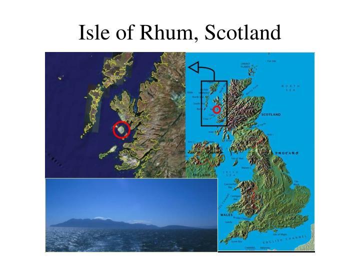 Isle of Rhum, Scotland