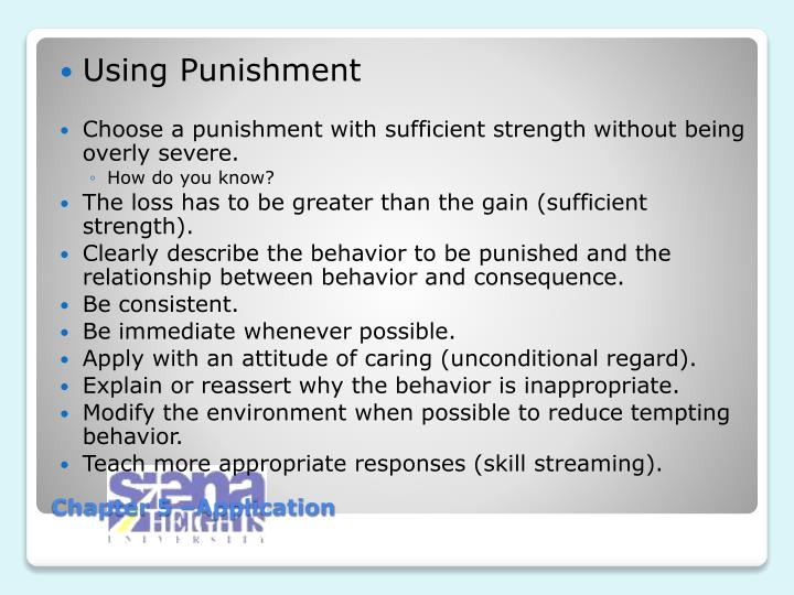 Using Punishment