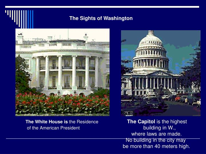 The Sights of Washington