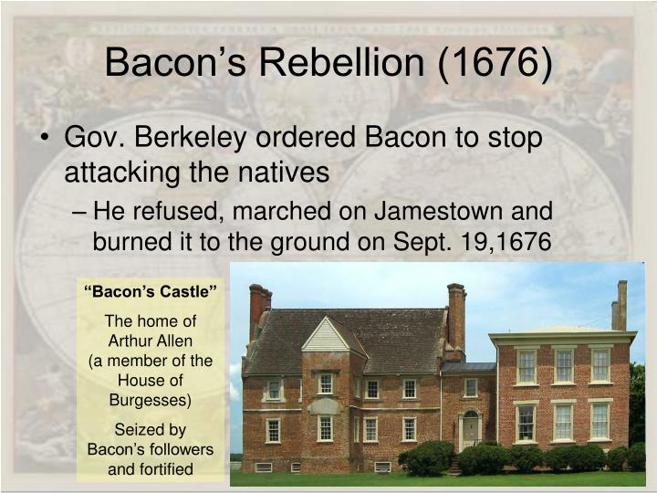 Bacon's Rebellion (1676)