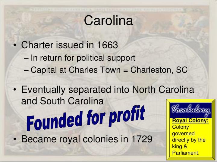 Royal Colony: