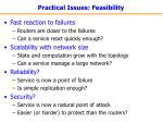 practical issues feasibility