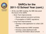 sarcs for the 2011 12 school year cont4
