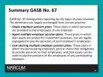 summary gasb no 671