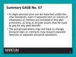 summary gasb no 672