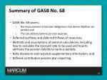summary of gasb no 68
