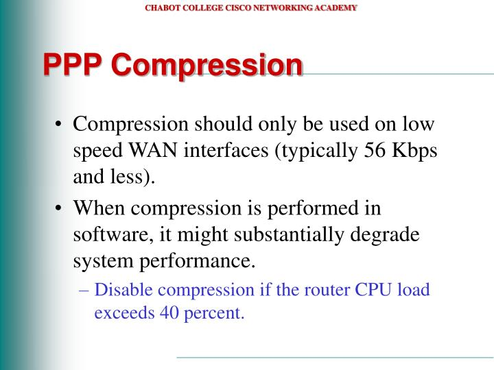 PPP Compression