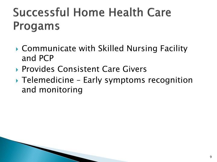 Successful Home Health Care