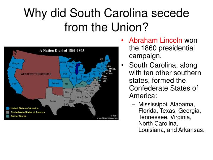 was the south justified in seceding from the union