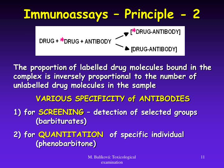 Immunoassays – Principle - 2