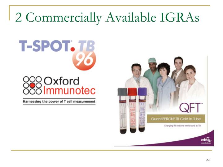 2 Commercially Available IGRAs