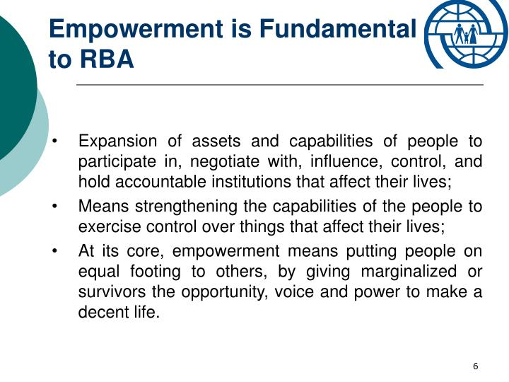 Empowerment is Fundamental