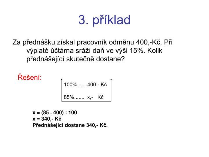 3. příklad
