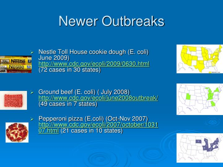 Newer Outbreaks
