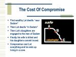 the cost of compromise
