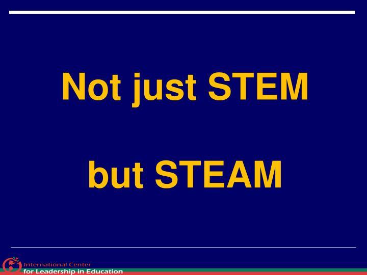 Not just STEM
