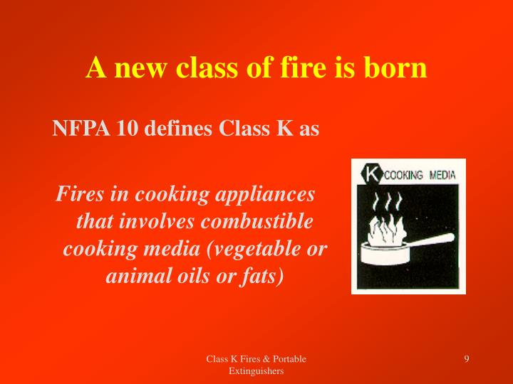A new class of fire is born