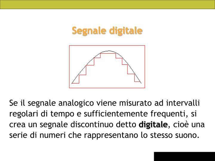 Segnale digitale
