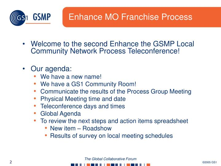 Enhance mo franchise process