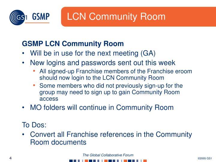LCN Community Room