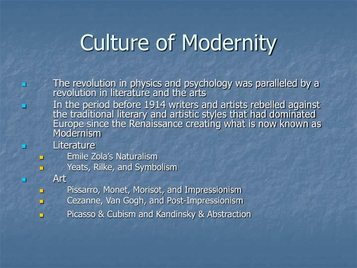 Culture of Modernity