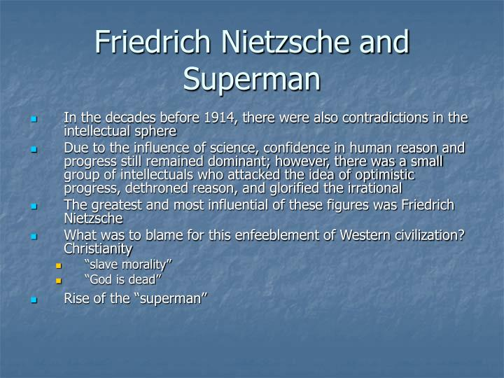 Friedrich Nietzsche and Superman