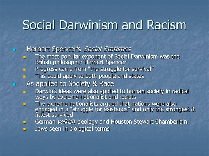 Social Darwinism and Racism