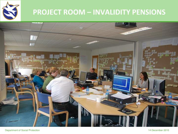PROJECT ROOM – INVALIDITY PENSIONS