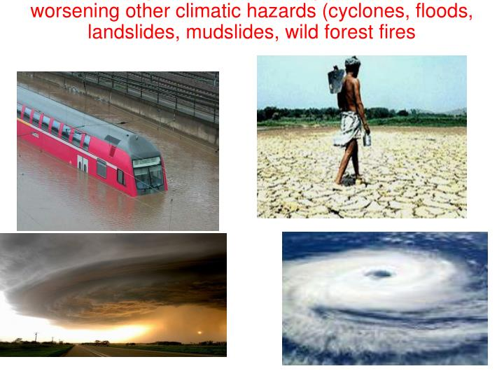 Observed impacts are more frequent and intense,