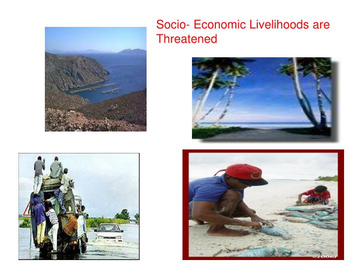Socio- Economic Livelihoods are